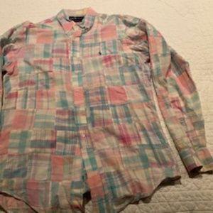 Ralph Lauren Polo  Madras Shirt